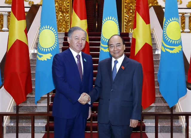 PM receives Kazakhstans lower house leader