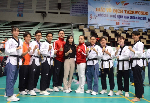 HCM City triumph in national top clubs taekwondo champs