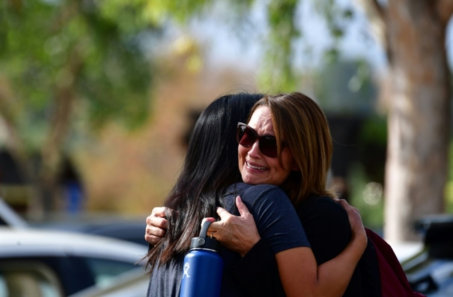 Two killed in California school shooting teen in custody