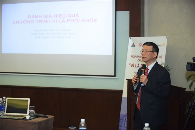 Healthy Lung programme improves Asthma  COPD management in Việt Nam