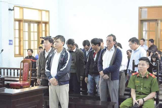 Jail sentences givento officials related to land management violations