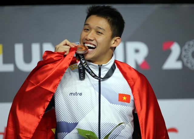 Nguyễn going for gold at SEA Games