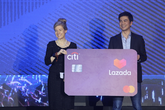 Citi Lazada unveil credit card partnership in VN