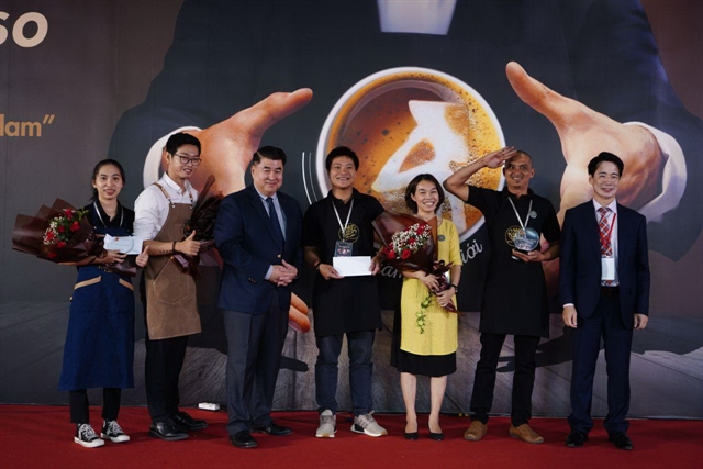 First Vietpresso coffee contest held in HCM City