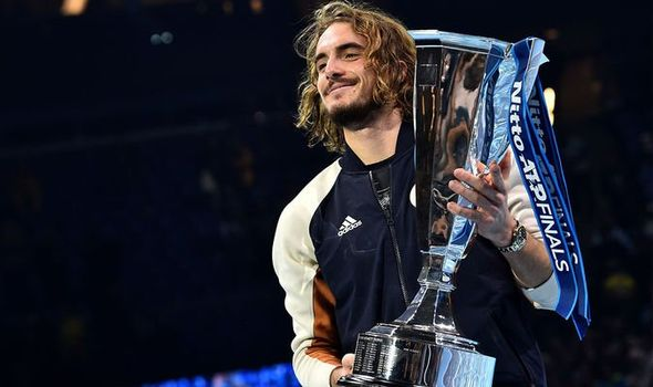 Tsitsipas beats Thiem to win ATP Finals