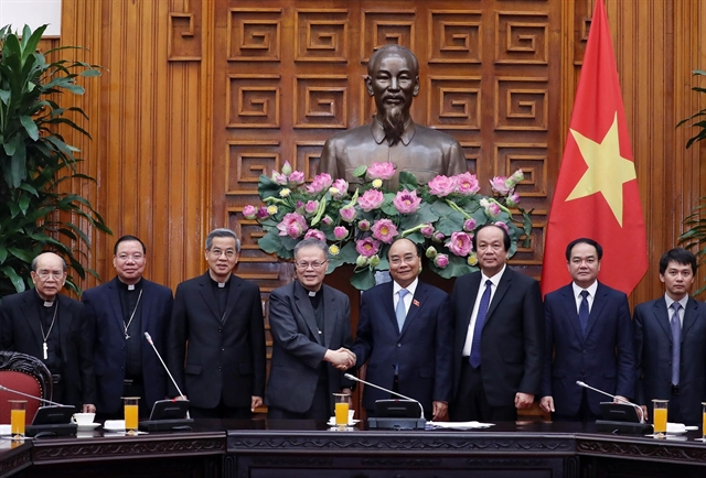 PM receives members of Catholic Bishops Conference of Việt Nam