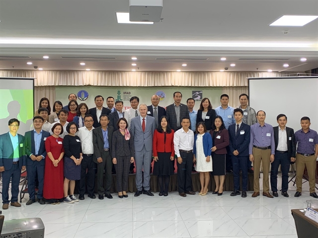 IFAD and Vietnamese agrarian centre cooperate to boost climate-resilient chain value innitiatives