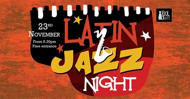 Latin Jazz Night is back at Cool Cats
