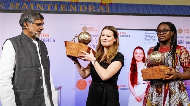 Greta Thunberg awarded international childrens peace prize