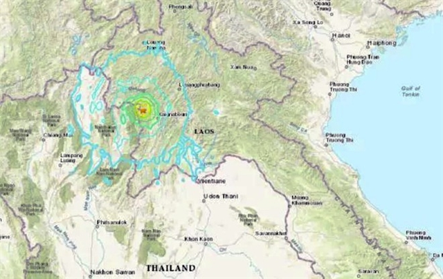Hà Nội shakes after earthquake in Laos