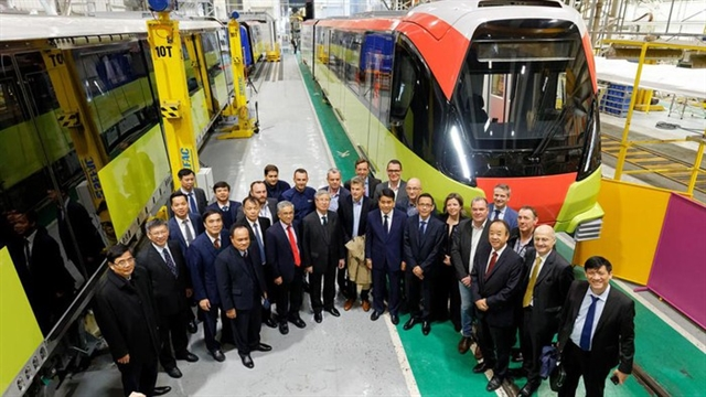 Nhổn – Hà Nội Station metro line expected to run in 2021