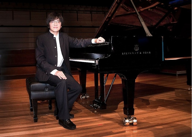 Piano brothers to play together at classical concert