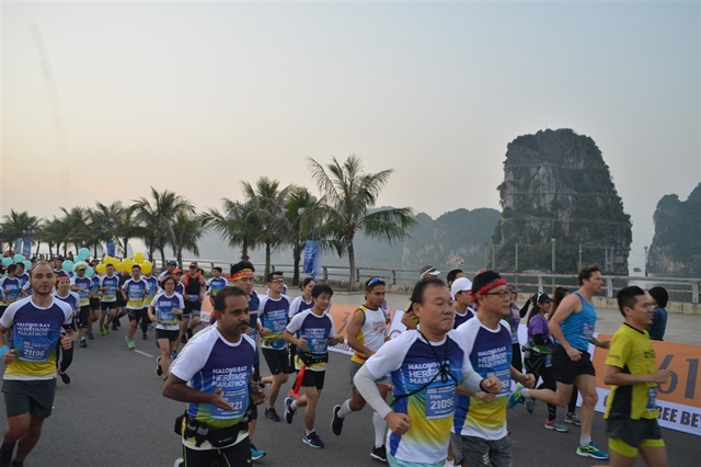 Halong Bay marathon is back this Sunday