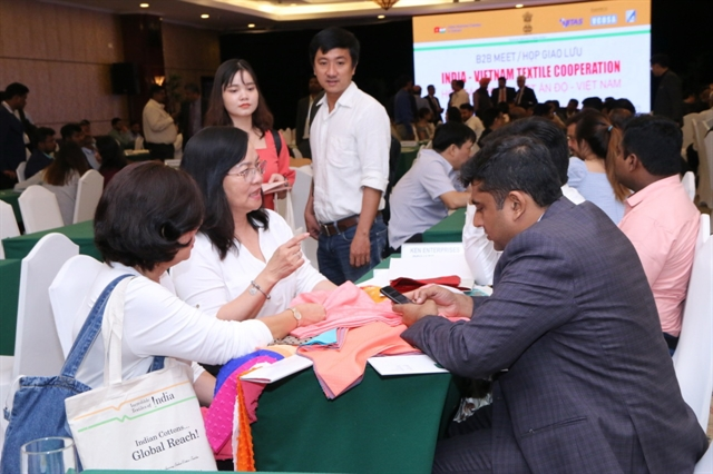 Việt Nam India enhance closer co-operation in textile sector