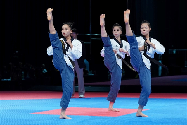 Taekwondo performers target golds at SEA Games