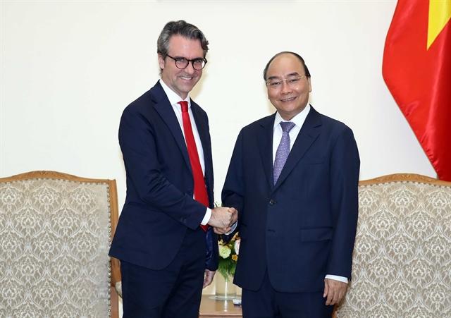 PM Nguyễn Xuân Phúc receives EU delegation head