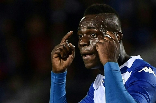 Brescia boss under-fire for Balotelli black joke