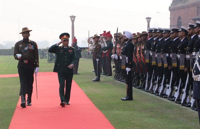 Vietnamese Indian militaries enjoy fruitful cooperation: officials