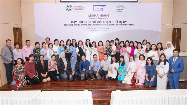 Singapore-Việt Nam collaboration to enhance education for autistic children