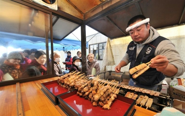 Go for lunch: Japanese yakitori chicken gets space thumbs-up