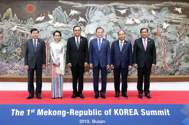 PM Phúc attends first Mekong-RoK Summit