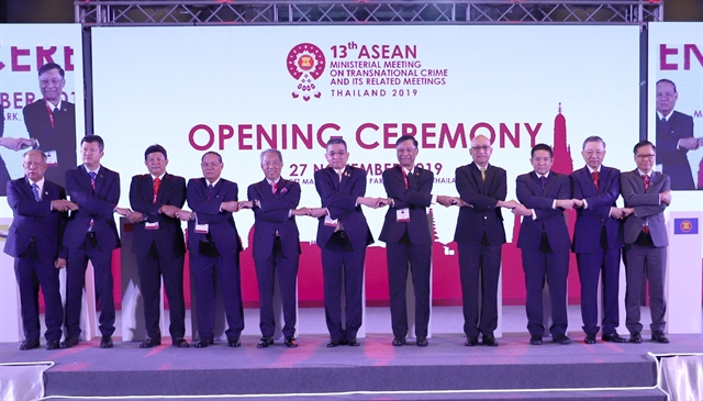 Việt Nam attends ASEAN meeting on transnational crime in Thailand