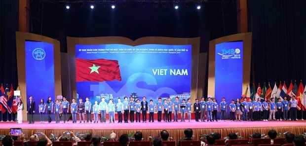 International Maths and Science Olympiad for juniors opens in Hà Nội