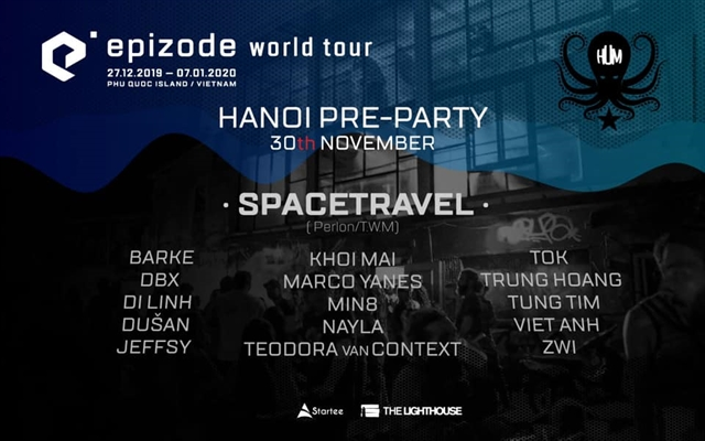 Epizode pre-party in Hà Nội this weekend