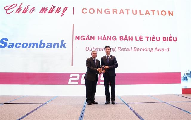 Sacombank double winner at 2019 Vietnam Outstanding Banking Awards