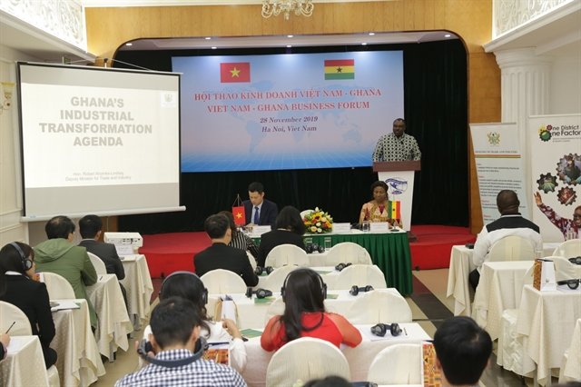Việt Nam Ghana boost bilateral trade and investment ties