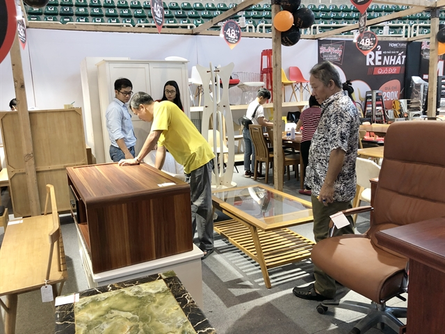 ​​​​​​​Two furniture fairs open in HCM City
