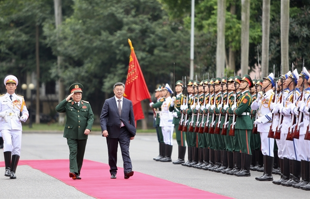 Vietnamese Mongolian Defence Ministers hold talks