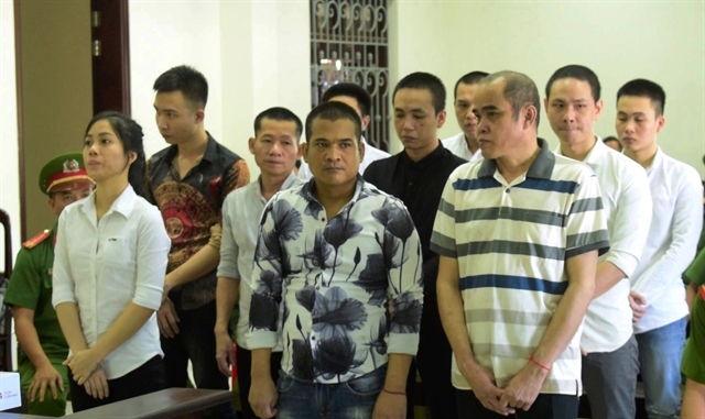 Five on death row for drug trafficking