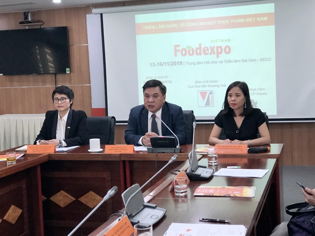 450 firms to take part in Vietnam Foodexpo