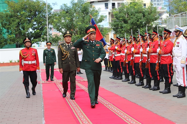 High-level military delegation wraps up visit to Cambodia