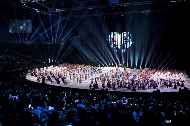 Philippines showcases cultural heritage to kick off 30th Sea Games