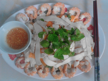 Củ hũ dừa salad theheartof Bến Tre