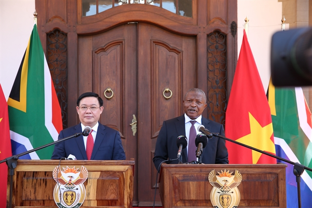 Việt Nam wants to expand ties with South Africa: Deputy PM