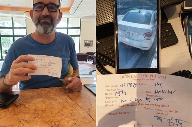 Taxi driver who ripped off foreign visitor fined VNĐ4.7 million