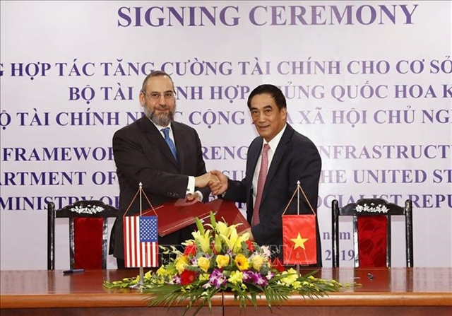 Việt Nam US to enhance infrastructure finance