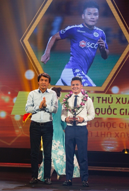Hải wins Best Player of V.League after Hà Nộis successful season