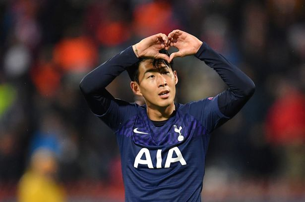 Son bounces back with a brace as Tottenham thrash Red Star again