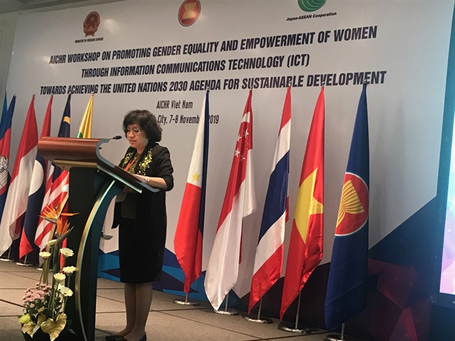 ICT development to level playing field for women ASEAN forum hears