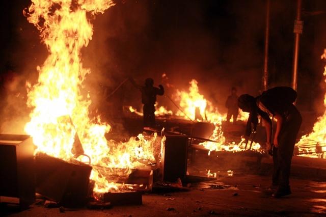 Chile president announces tougher public order laws