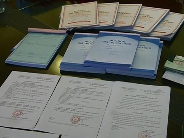 Hải Phòng busts illegal VAT invoice case