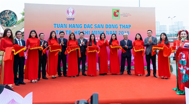 Week of Đồng Tháp Specialities kicks off at Big C in HCM City