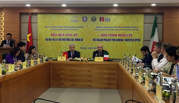 Italy supports Việt Nam in improving statistics system
