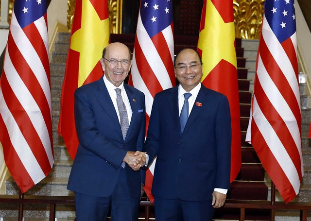 PM Phúc receives US Secretary of Commerce