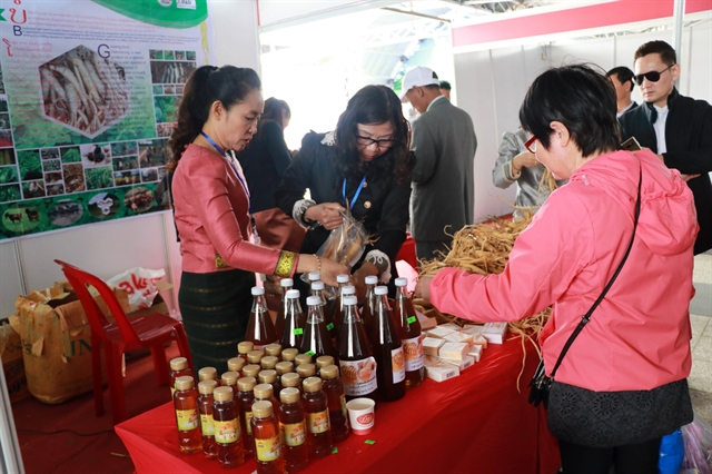 Vietnamese Lao and Cambodian farmers cultivate ties