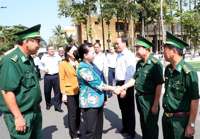 NA leader Ngânvisits An Giang Province